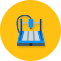 cnc machine icon